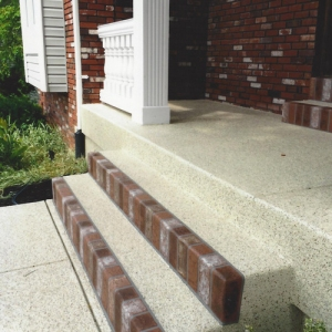 entryway with aggregate effects