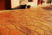 stamped concrete orange county