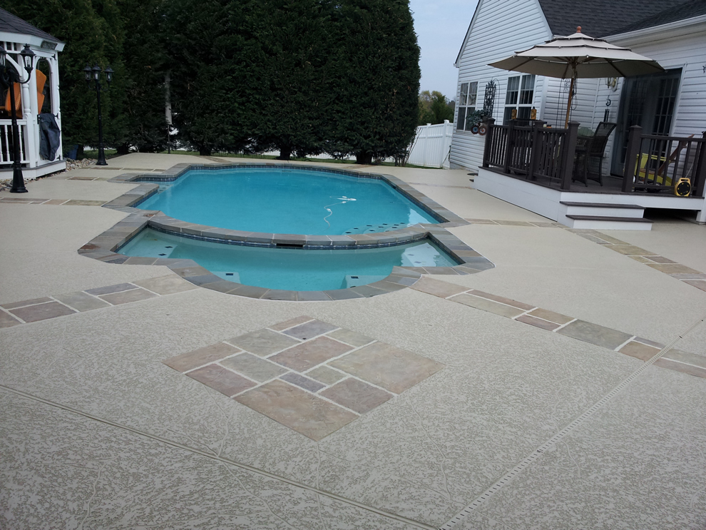 Cool decking installation orange county ca 714 563 4141 for Concrete pool