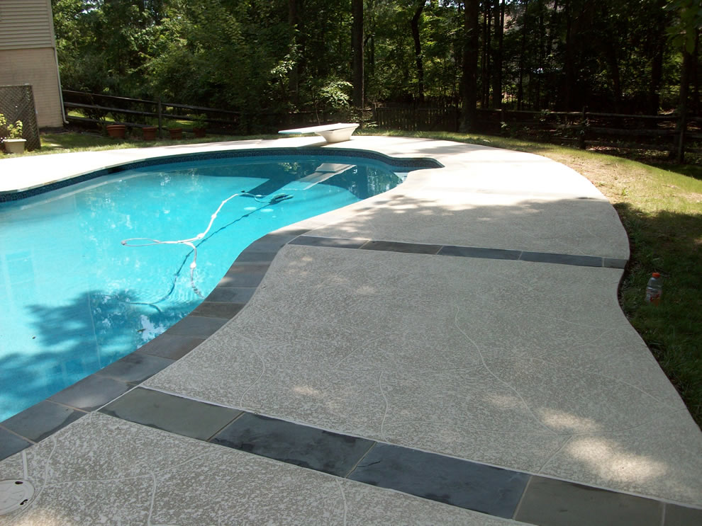 slip resistance pool deck
