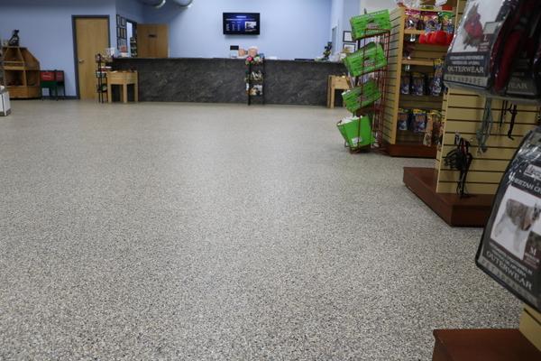 commercial epoxy floor orange county