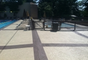commercial orange county pool decking