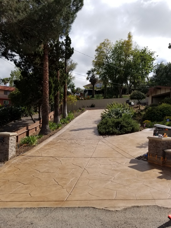 Concrete Driveway Coatings Amp Overlays Orange County 714