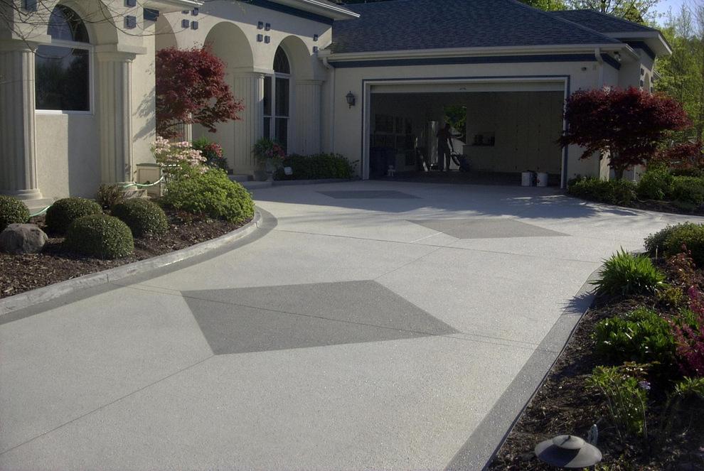 concrete driveway orange county
