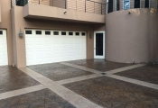 concrete stamping driveway orange county