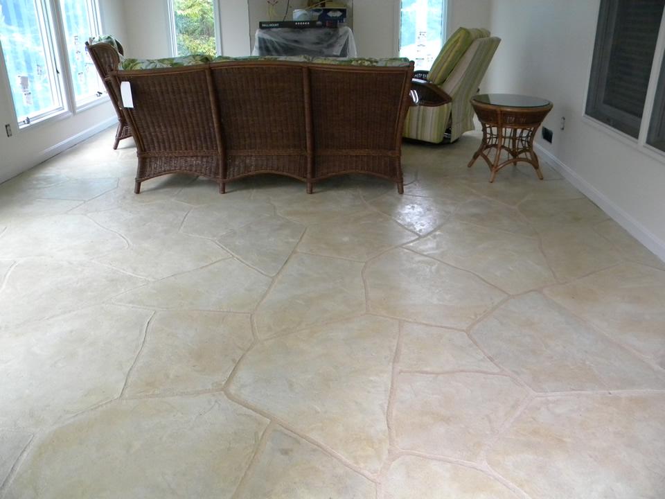 concrete resurfacing limestone coating