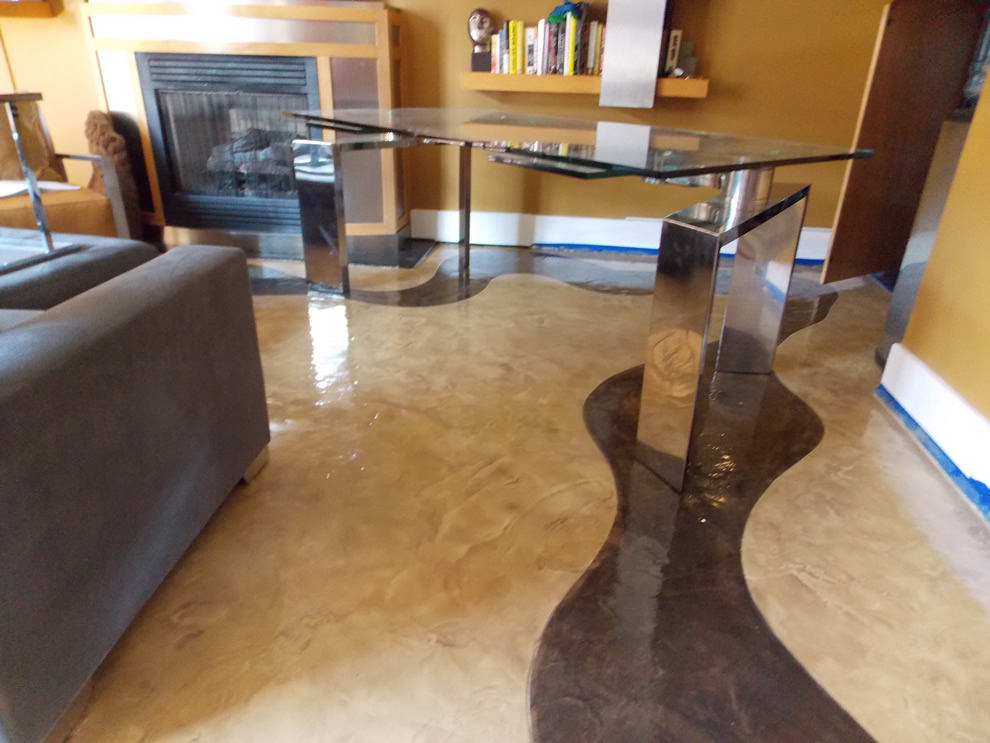 Blog archives orange county concrete coating specialists for Decorative concrete floors residential