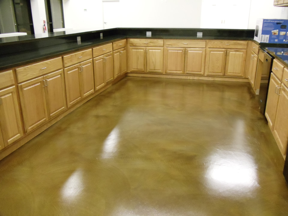 Concrete interior floor stain How to stain interior concrete