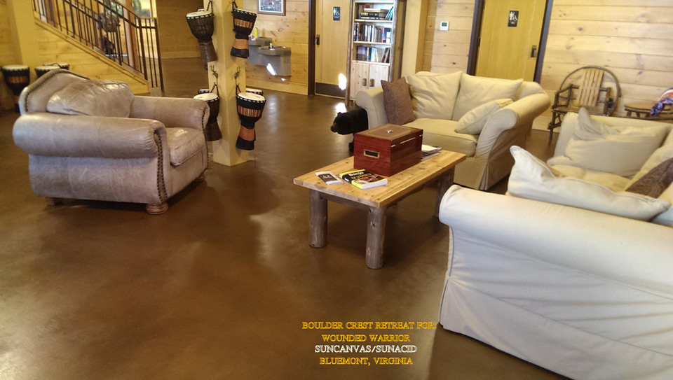 1 Stained Concrete Contractor Orange County 714 563 4141