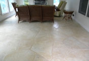 concrete resurfacing limestone coating