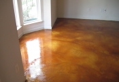 concrete staining floor