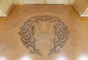 customized interior floor