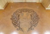 customized interior floor