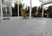 trowel finish concrete patio