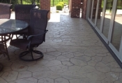 stamped concrete overlay patio orange county
