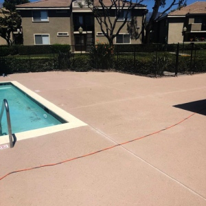 sealing commercial swimming pools