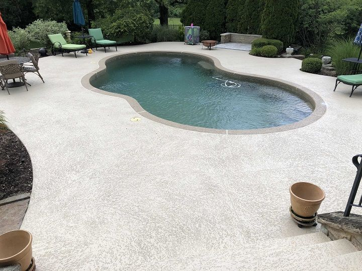 how to patch cracks in concrete pool deck