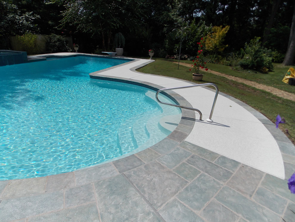 Concrete pool deck services orange county ca 714 563 4141 for Concrete pool