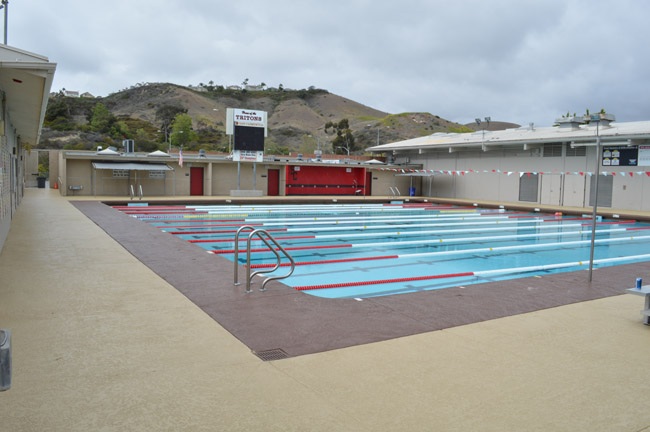 easy to clean pool deck
