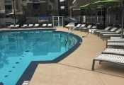 commercial concrete pool deck oc