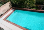 commercial swimming pool deck