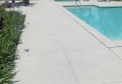 spray texture pool deck orange county