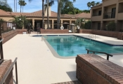 pool deck orange county