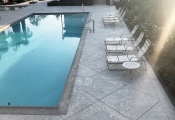 decorative concrete pool deck orange county
