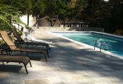 limestone pool decking orange county