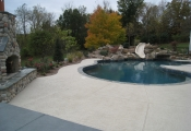 pool deck texture coating
