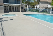 pool deck refinishing