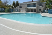 concrete pool decking