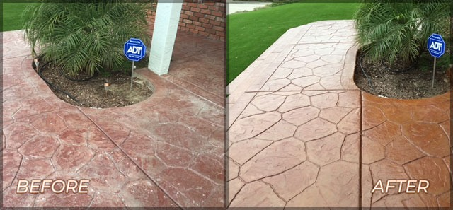 stamped-and-stained-walkway