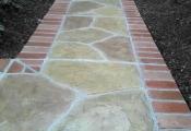 decorative concrete walkway