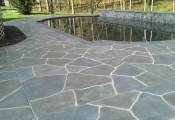 pool deck overlay limestone