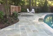 pool deck limestone coating