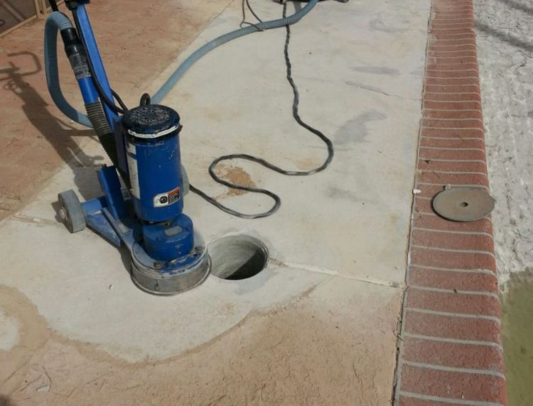 concrete coating removal