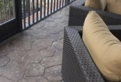 decorative concrete patio orange county