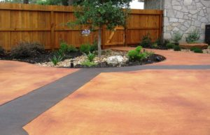 stained concrete patio orange county