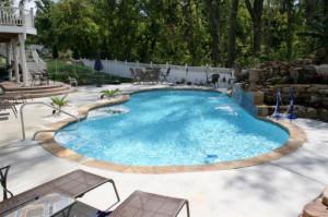 La Habra CA Pool Deck