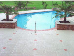 Sherman Oaks, CA Pool Deck Installation