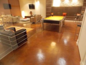 Fullerton, CA Stained Concrete