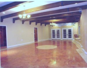 Huntington Beach, CA Stained Concrete