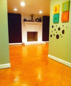 La Habra, CA Stained Interior Floor