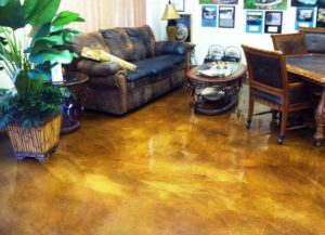 Mission Viejo, CA Stained Concrete