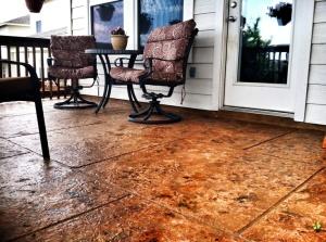 Garden Grove, CA Stamped Patio