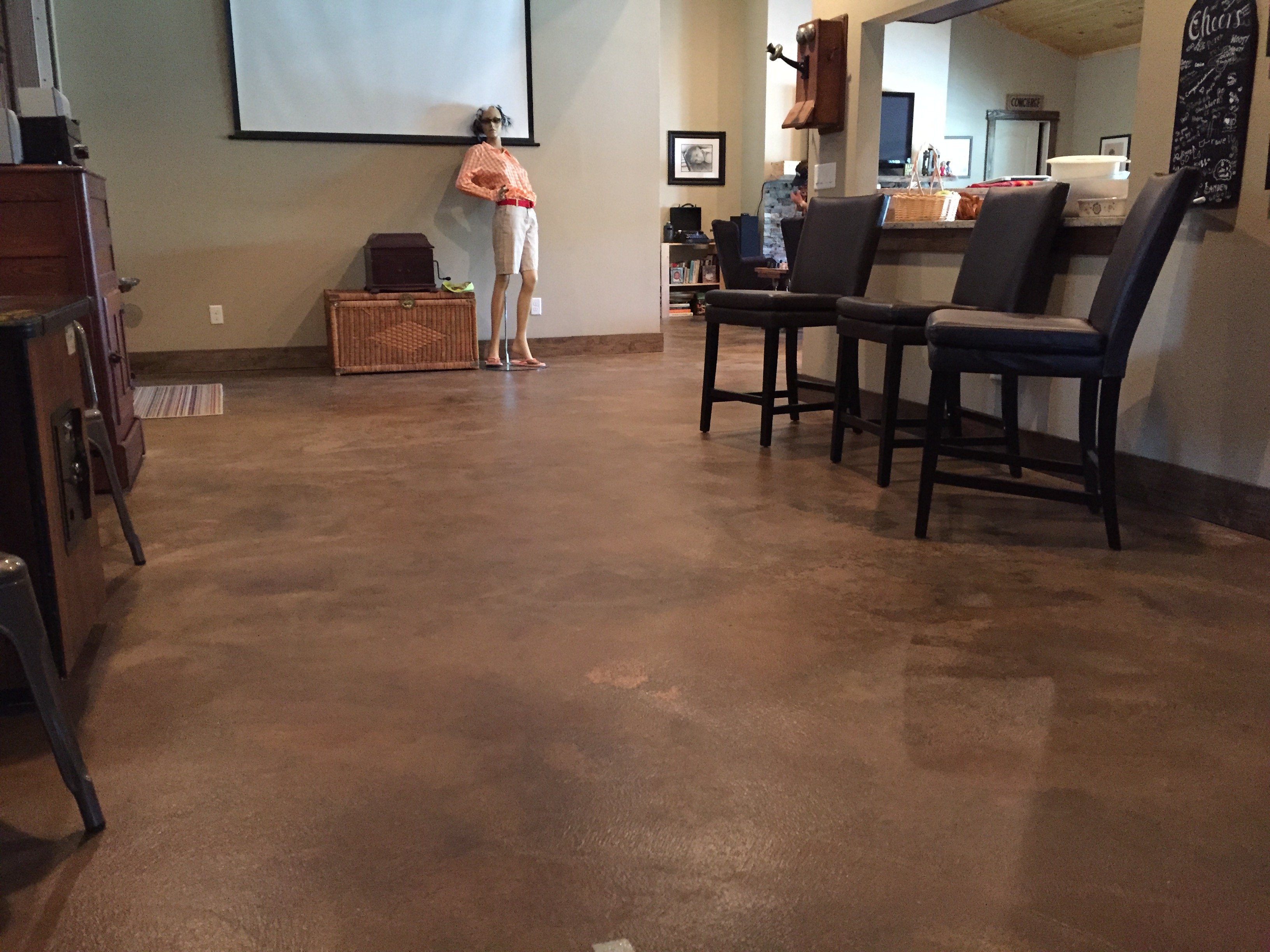 Decorative concrete stain an alternative to carpet - Why you should consider concrete staining for your home ...
