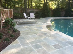 limestone coating concrete pool deck orange county ca