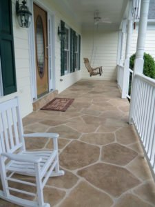 limestone concrete patio overlay orange county