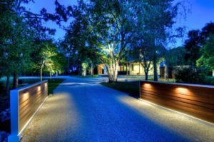 concrete driveway lighting orange county ca